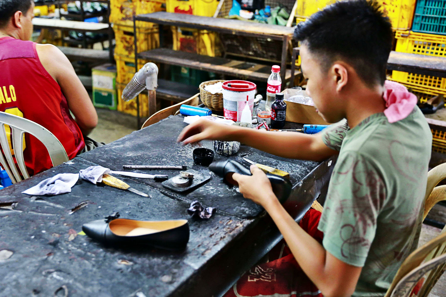 Marikina shoemakers to hold fairs in various metro manila cities the municipality of muntinlupa will shoulder the costs of putting up tents and booths where the shoemakers will be displaying and selling their products stopboris Choice Image